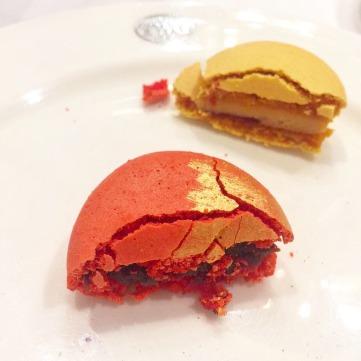 Tea-infused Macarons