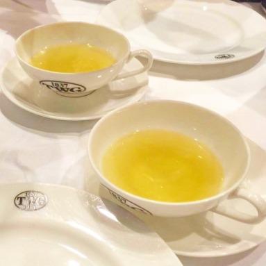 Tea sampling!