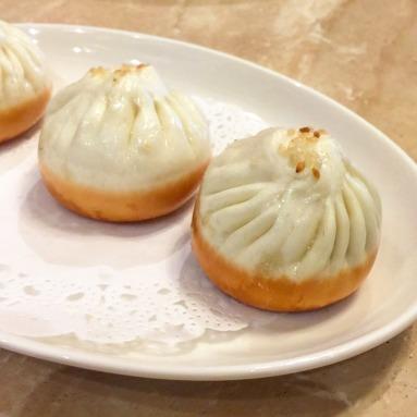 Pan-fried Shanghai Pork Buns