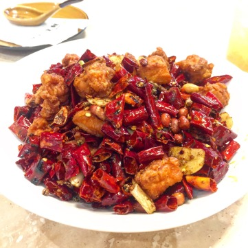 Spicy Szechuan Crispy Chicken