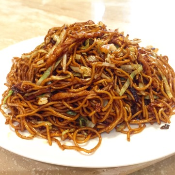La Mian with Shredded Pork and Black Fungus