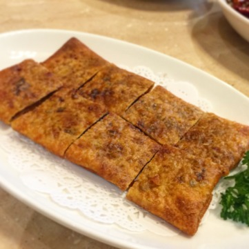 Pan-fried Pancake with Red Bean Paste