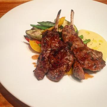 Charcoal-grilled Lamb Chops