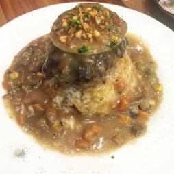 Angus Patty Steak & Rice