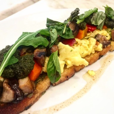 Mixed Mushrooms and Roasted Vegetables
