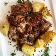 Roast Chicken with Balsamic & Mustard Sauce