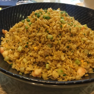 Seafood Fried Rice with Curry