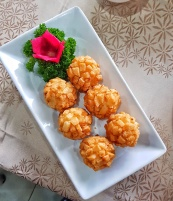 Crispy Fried Shrimp Balls